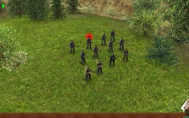 Ger infantry squad