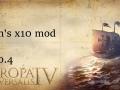 Frin's x10 mod for EU4