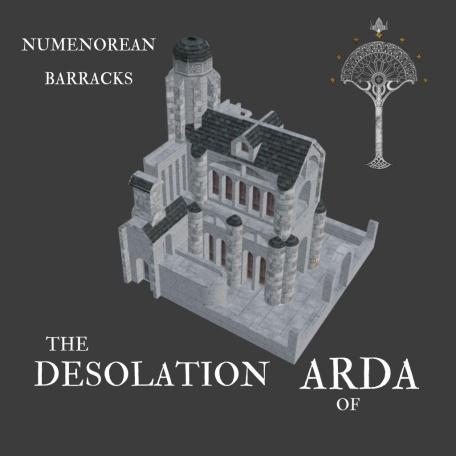 Custom Buildings for Numenor