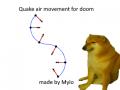 Quake airstrafing mod