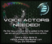 Additional voice actors needed!