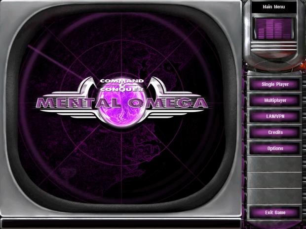 3.0 main menu screen