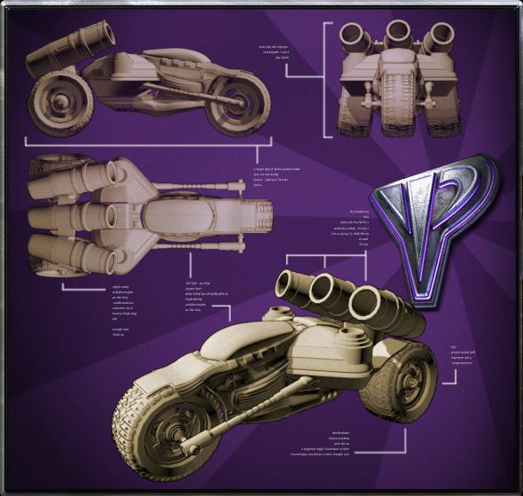 Scorpion Cell's Speeder Trike
