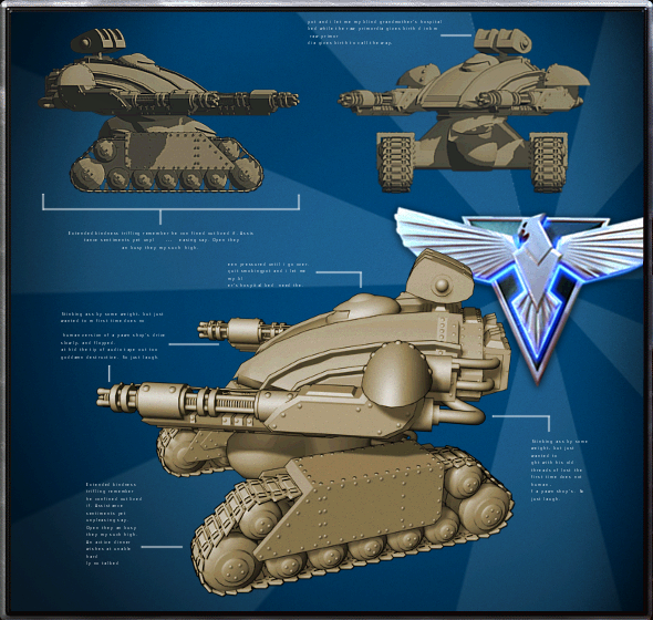 Allied Future Tank X-0