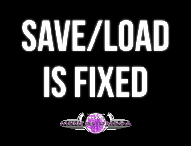 SAVE/LOAD IS FIXED