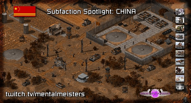 Subfaction Spotlight #2: China (Oct 9)