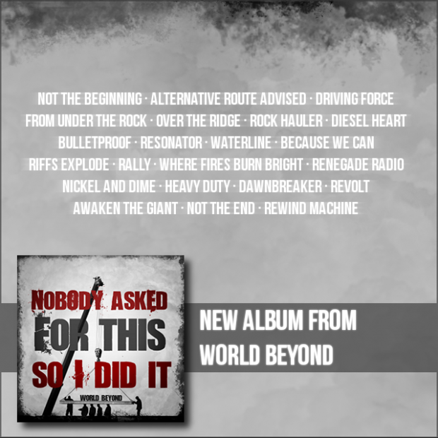 New album from World Beyond!