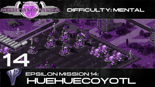 Yuri's Epsilon Mission 14: Huehuecoyotl