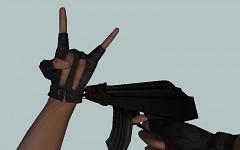 New AK47 hands