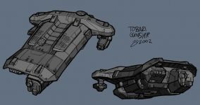 Tobari fightercraft concept
