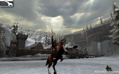 Degathian Warlord on horse