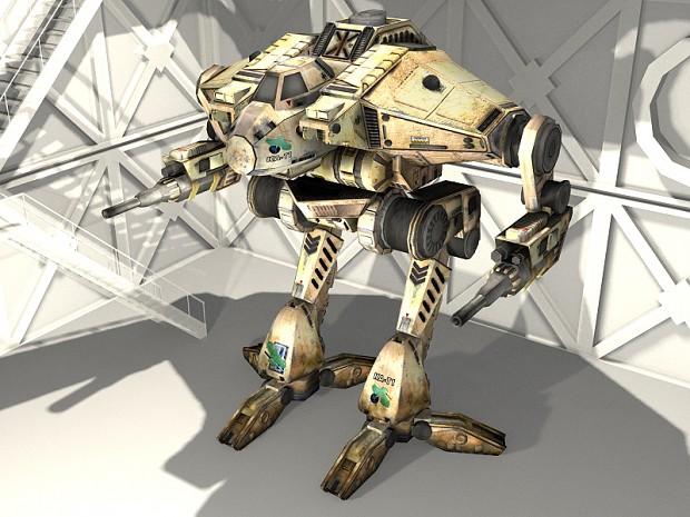 MTS Cougar - Clan Jade Falcon desert skin