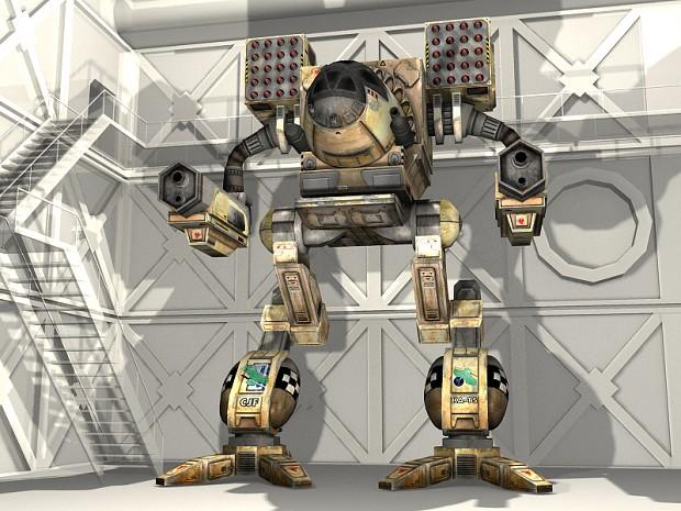 MTS Timber Wolf / Mad Cat - Clan Jade Falcon desert skin 3