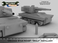 Wolf Artillery Tank