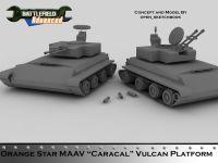 """MAAV """"Caracal"""" Vulcan Platform"""