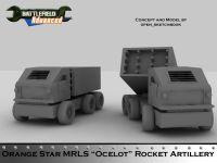 MRLS Ocelot Rocket Artillery