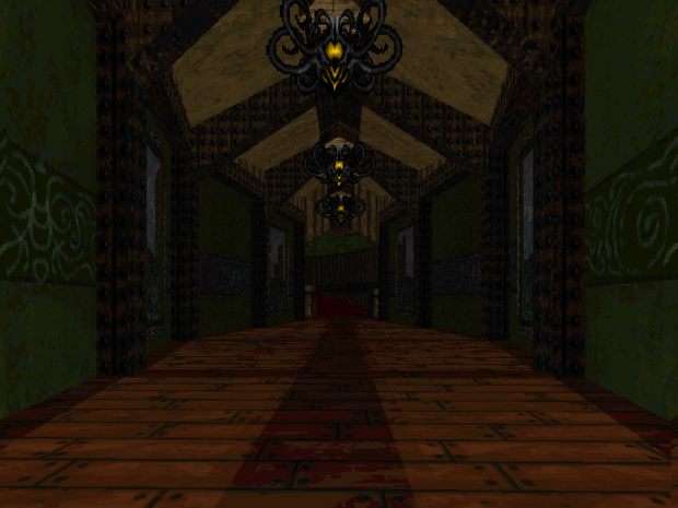 Core Temple Hallway