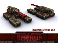 Russian Sentinel with ERA Upgrade