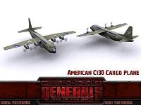 American C130 Cargo Plane