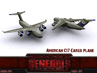 American C17 Cargo Plane