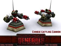 Chinese Gattling Cannon