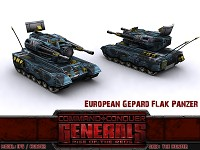 European Gepard Flakpanzer