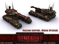 Russian Sentinel Arena Upgrade