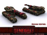 Russian HT28-03 'Sentinel' Super-Heavy Tank