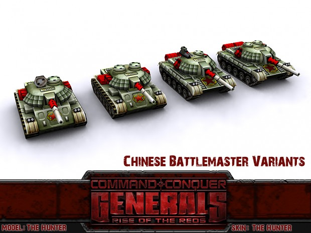 Chinese Battlemaster Variants