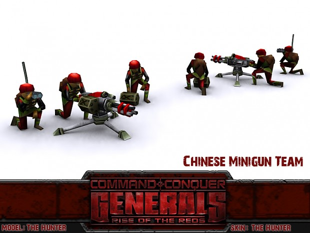 Chinese Minigun Team
