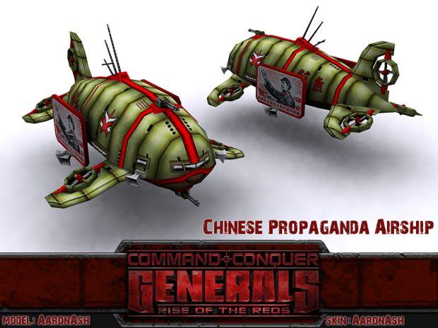 Chinese Propaganda Airship