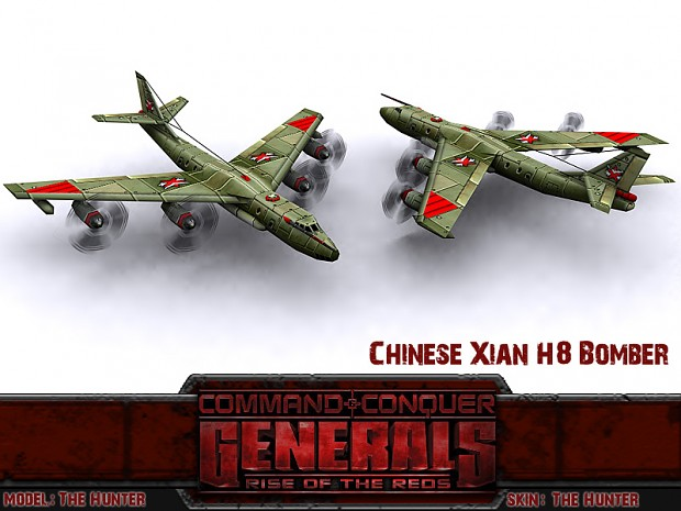 Chinese Xian H8 Bomber