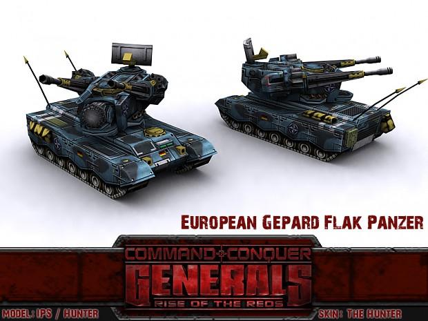 European Gepard Flakpanzer with Revolver Upgrade