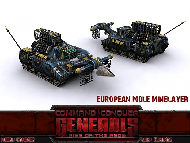 European Mole Minelayer