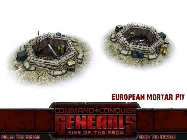 European Mortar Pit