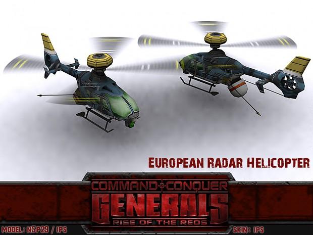 European Radar Helicopter