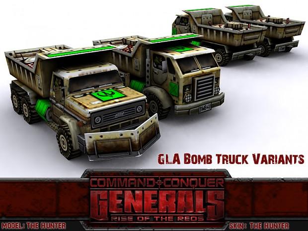 Bomb Truck Variants
