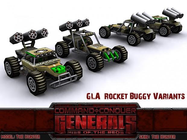 GLA Rocket Buggy Variants