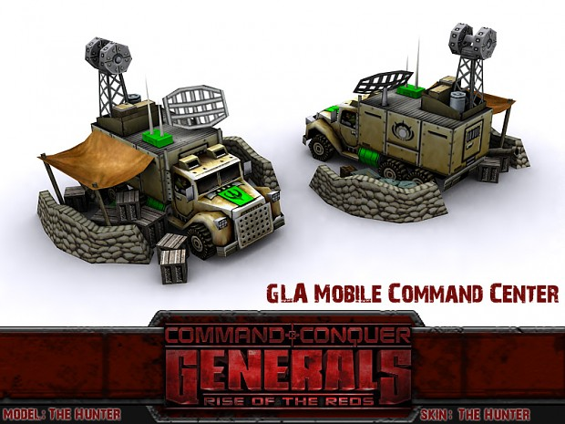 GLA Command Truck Deployed