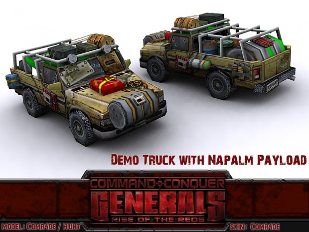 Demo Truck with Napalm