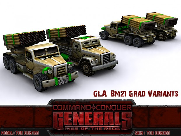 GLA BM21 Grad Variants