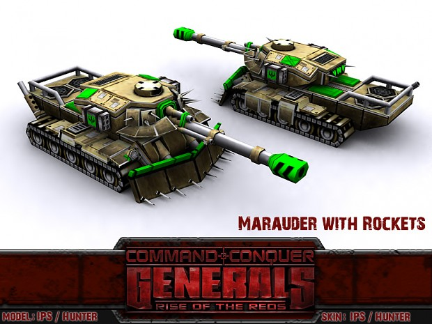 Marauder Tank with GLA Tier 1 Tech
