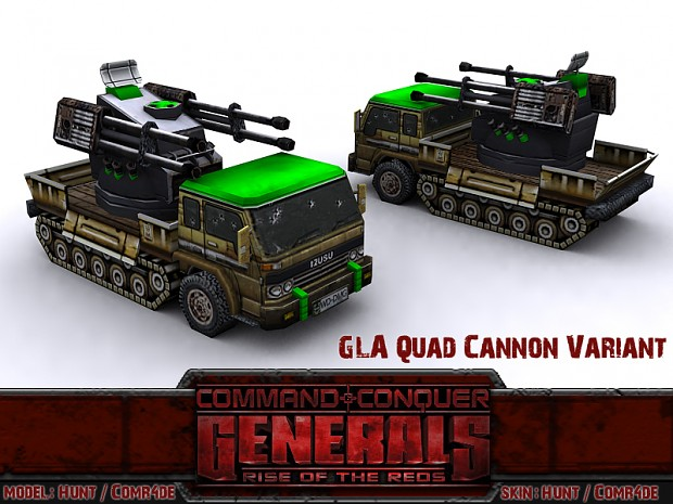 Quad Cannon Variants