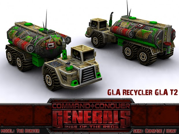 Recycler with GLA Tier 2 Tech
