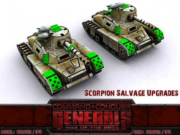 GLA Scorpion Tank Salvage
