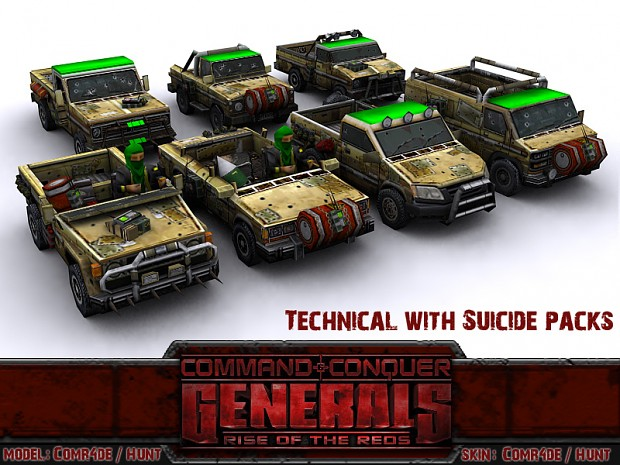 Technical with Suicide Packs
