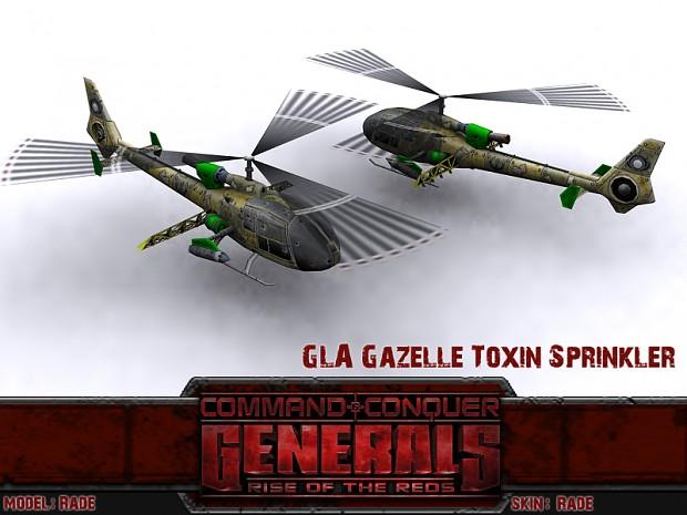 GLA Gazelle Toxin Sprinkler