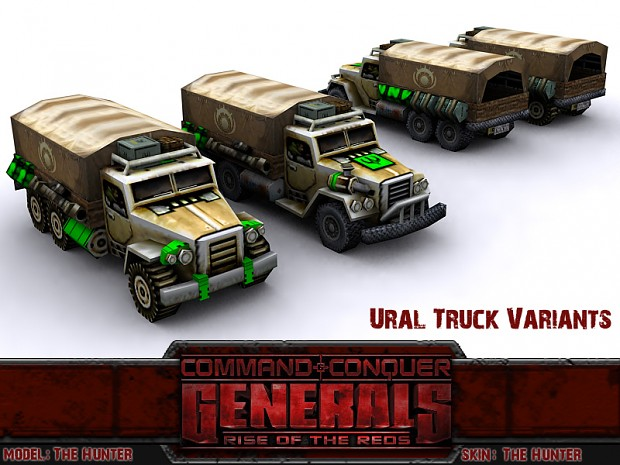 Ural Truck Variants