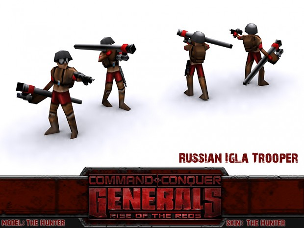 Russian Igla Trooper