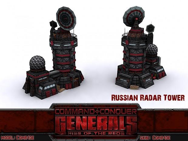 Russian Radar Tower